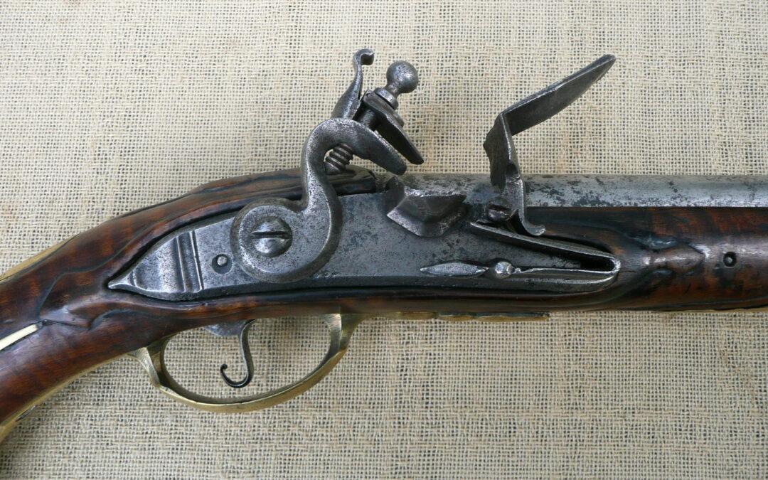 Pruská křesadlová pistole